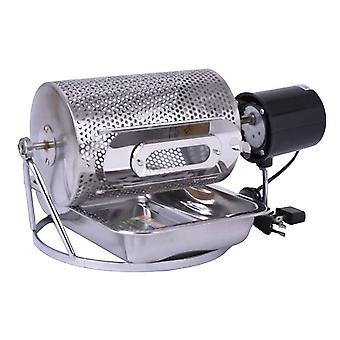 Electric Stainless Steel Glass Window Coffee Roaster Machine