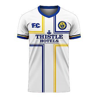Leeds 2020-2021 Home Concept Football Kit (Fans Cultuur)