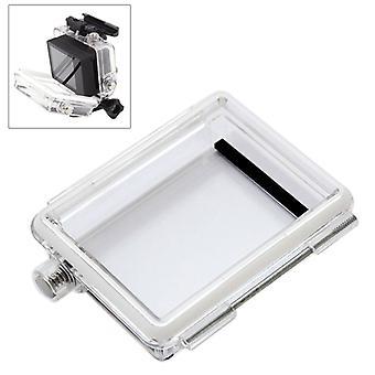 ST-174 30m Waterproof Backdoor for GoPro HERO4 /3+ Bacpac LCD Screen(Transparent)