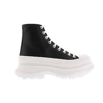 Alexander McQueen H.Boot Tread.Le.S.Ru Box.D.Ca. Negru 627206WHZ621071 pantof
