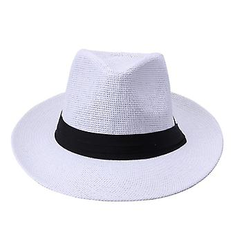 Hot  Fashion Summer Casual Unisex Beach Trilby Large Brim Jazz Sun Hat Panama