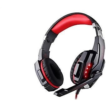 Gaming Headsets With Led Light And Mic-stereo Earphones With Deep Bass