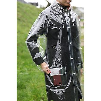 Transparent Reusable Raincoat