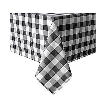 36inch Table Mat Plaid Square Nappe, Nappe en polyester checkered Gingham