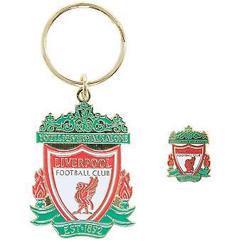 Liverpool FC Keyring ja merkkisarja