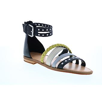 Frye & Co. Adult Womens Evie Mixed Strap Stud Sandal Strap Sandals