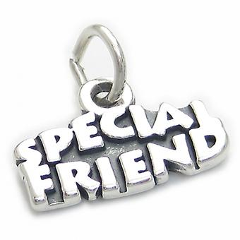 Special Friend Sterling Silver Charm .925 X 1 Bff Best Friends Charms - 3758