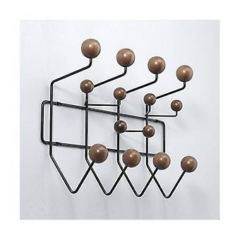 متعدد الألوان هانغ الأثاث معطف الشماعات / الكرة الرف Milti الغرض هوك للجدار