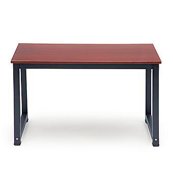 Pöytäpöytä - ruskea mustalla - 120x60x73 cm