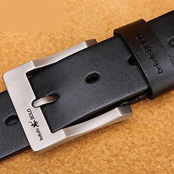 Fashion Genuine Leather Strap Luxury Pin Buckle Belt Cummerbunds Ceinture