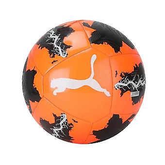 Puma Spin Football Soccer Recreation Outdoor Training Ball Orange/Black - Mini