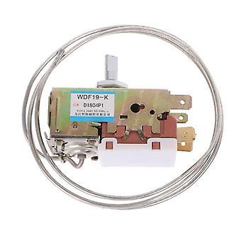 Jääkaapin osat Wdf19-k Termostaatti 250v Kotitalouksien metallin lämpötila