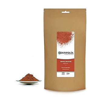 Pure and natural red clay 250 g of powder