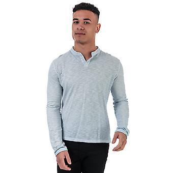 T-shirt à manches longues Henri Lloyd Serafino Cotton Slub en gris