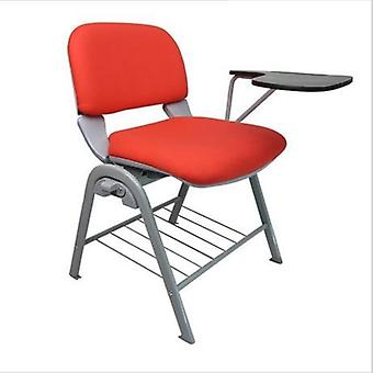 Conference, Commercial Office Furniture Plastic Fabric Chair With Writing Board