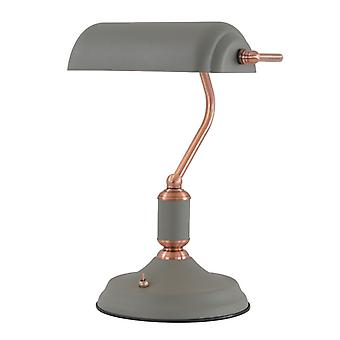 Lámpara De Sobremesa Acid 1 Bombilla Gris Arena 119,7 Cm