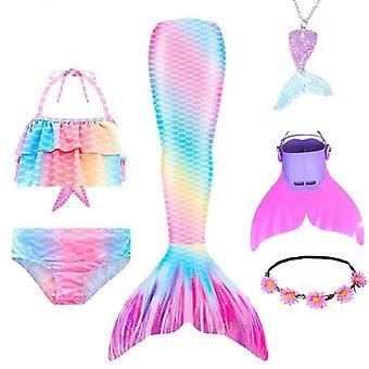 Swimmable Mermaid Coada Princess Rochie