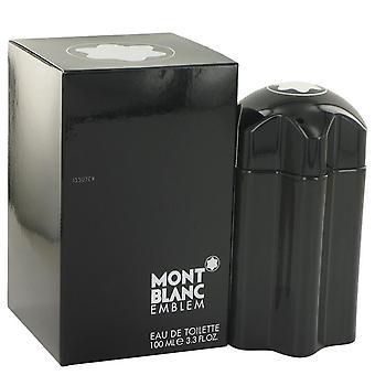 Montblanc Emblem Eau De Toilette Spray von Mont Blanc 3.4 oz Eau De Toilette Spray