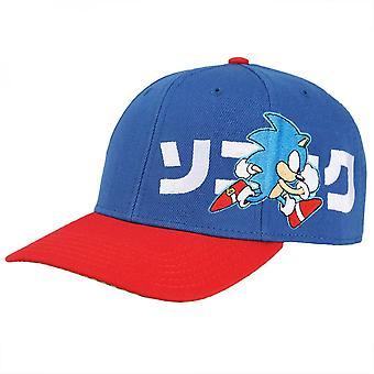 Sonic Kanji Voorgebogen Bill Snapback
