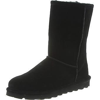 إيلي Bearpaw المرأة مغلقة إصبع القدم أحذية الطقس البارد في منتصف العجل