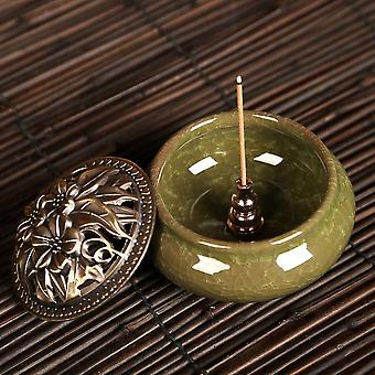 Portable Alloy Copper Incense Holder Can Be Fixed Incense Stick