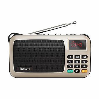 W405 Portable Mini Fm Radio Speaker Music Player Tf Card Usb Pc Ipod Phone With