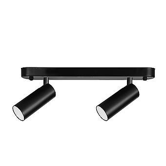 Forlight Logos Double - LED Twin Spotlight 3,7W 3000K 282lm Sort
