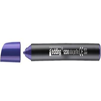 Marker pen/felt-tip pen Edding 1200/008 Violet (Refurbished A)