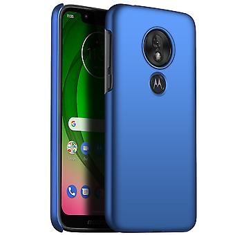 Ultra thin case for moto g7 play anti fall shockproof cover blue kc357