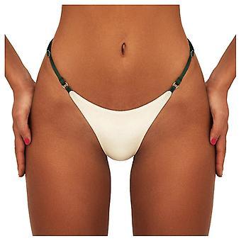 Swimwear Women Briefs Bikini Bottom Side Ties