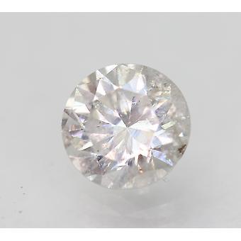 Zertifiziert 1.02 Carat E SI1 Round Brilliant Enhanced Natural Diamond 6.42mm 3VG