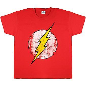 The Flash Girls Distressed Logo T-Shirt