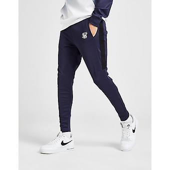 New SikSilk Men's Poly Track Pants Blue