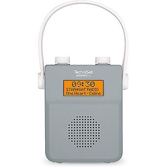 FengChun DIGITRADIO 30 - wasserdichtes DAB+ Duschradio (UKW, DAB Digitalradio, integrierter Akku,