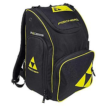Fischer Unisex Adults, Black/Yellow Backpack Race 70 L, 70 liters
