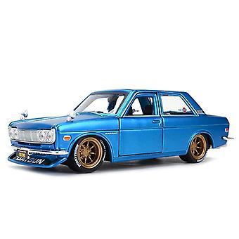 1:24 Nissan 1971 Datsun 510 Urheiluauto Staattinen Die Cast Vehicles Keräilyautot Malli Auto lelut