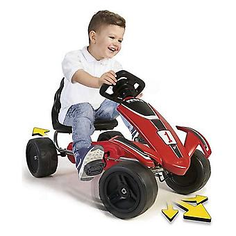 Go-Kart Feber Pedals Red/Black (49 x 51 x 82 cm)