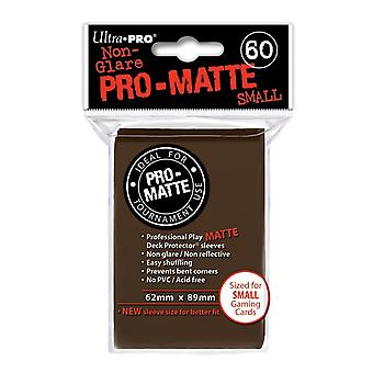 Ultra Pro Pro-Matte Light Brown Small Deck Protectores - 60 Mangas