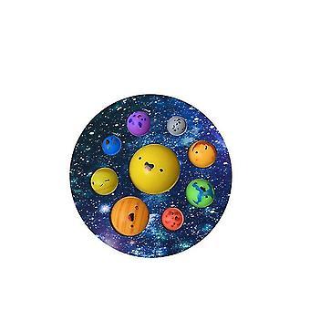 Paina Planet-leluja, lasten koulutuksellisia unzip-leluja (Color4)