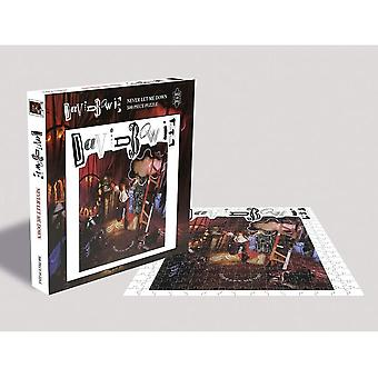 David Bowie Never Let Me Down Jigsaw Puzzle (500 Pieces)