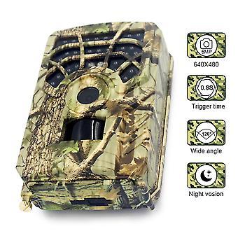 Pr300a 12mp 720p vadászkamera 120 fokos pir érzékelő széles látószögű infravörös éjszakai látás vadvilág trail hőkamera videokamera