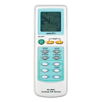 Télécommande de climatiseur universel RM-3000C pour toshiba panasonic sanyo fujitsu lg aux