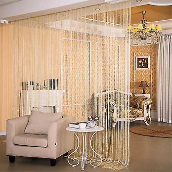 Room dividers stylish glitter string door curtain room dividers beaded fly screen fringe