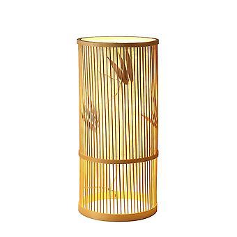 Fine Asianliving Bambusowa lampa stołowa ręcznie robiona - Ella D18xH42cm