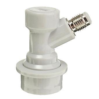 Biervat connector dispenser vloeibare gas connectoren 1/4'' voor home brew biervat
