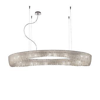 Kolarz CLOUD - Designer Metall Anheng Lys Polert Chrome, 20x G9
