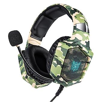 Headset Camouflage  Wired Gamer Stereo Gaming Headphones With Microphone /Laptop|Headphone/