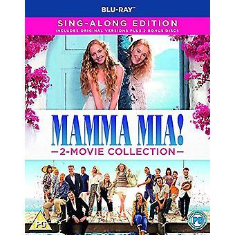 Mamma Mia! 2-Movie Collection %u2013 Sing-Along Edition Blu-ray