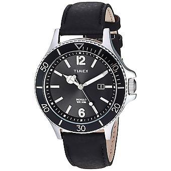 Timex Harborside Leder Herrenuhr TW2R64400