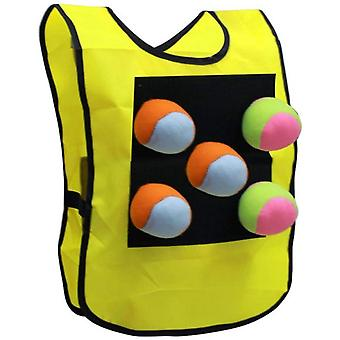 Children's Outdoor Toy Sticky Jersey Vest Suit, Parent-child Game Outdoor Throwing